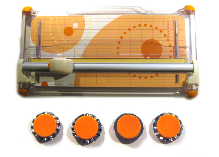 Fiskars Portable Trimmer Amp Rotary Blades 183 Craft Product