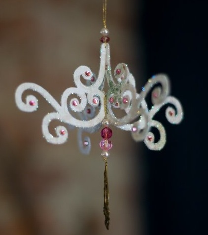 Chandelier Ornament Craft Finds Cut Out Keep Blog