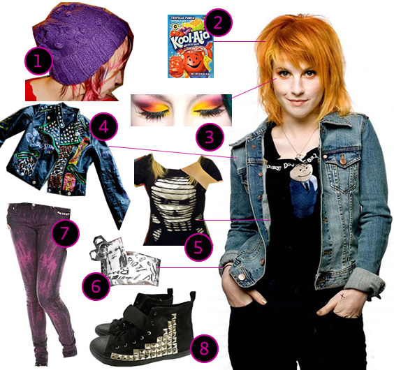 hayley williams hair decode. DIY The Look: Hayley Williams