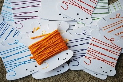 Thread Organizer Cards  Craft Finds  Cut Out  Keep