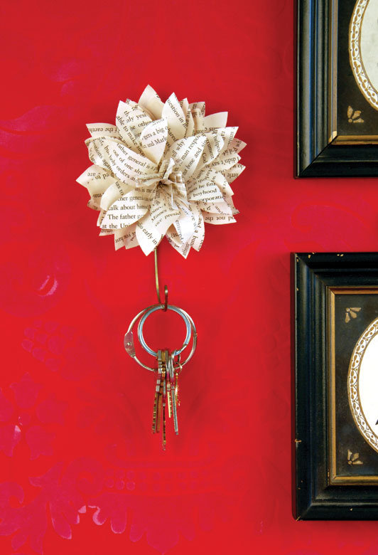 how to make a key holder out of paper