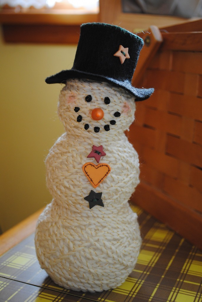 Yarn Ball Snowman 183 Craft Finds 183 Cut Out Keep Craft Blog
