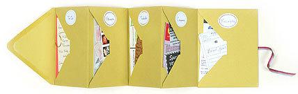 Как сделать из бумаги кармашек для конвертиков