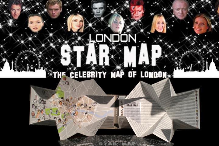 London Star Map · News · Cut Out + Keep Craft Blog on star home map, famous star map, red star map,